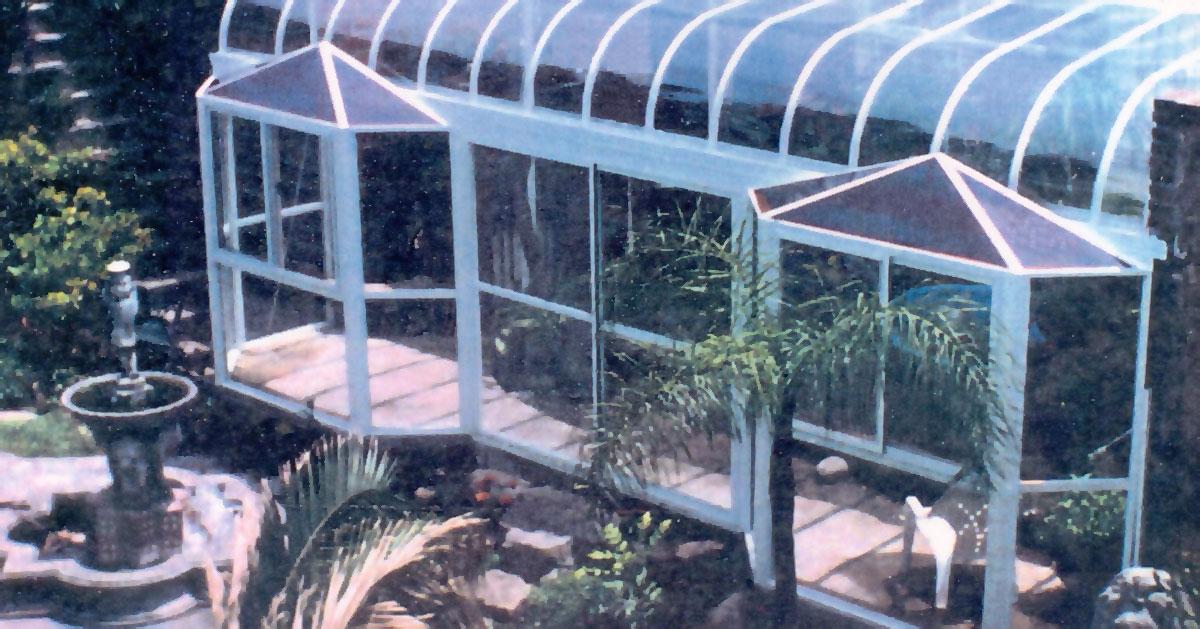 Cúpulas estructurales de aluminio